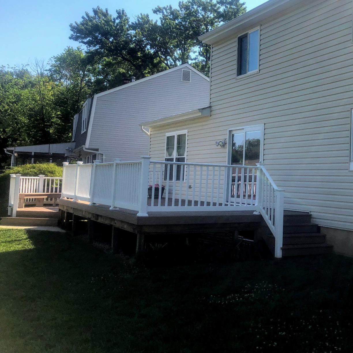 Screen Room Porch in Annapolis Maryland - Before Photo