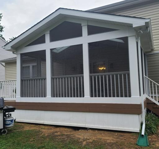 Screen Room Porch in Annapolis Maryland - After Photo