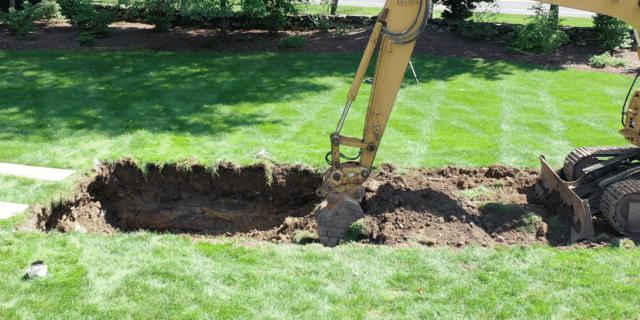 Cultec Stormwater System Grass Repair