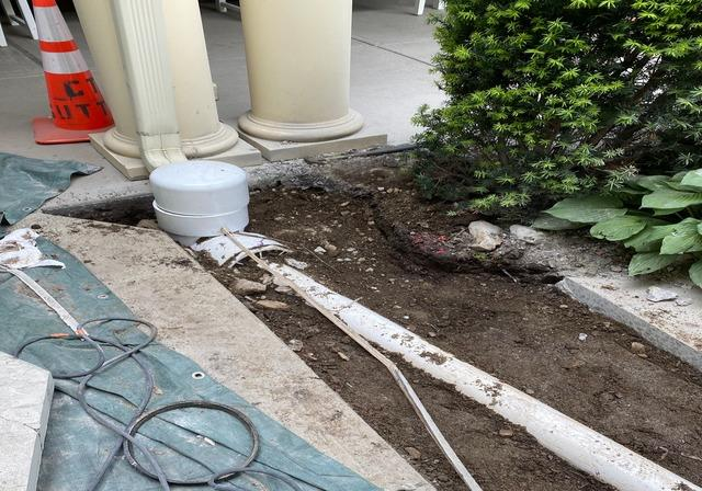 CT Stormwater Authority, LLC | Digging and Installing New Ground Drains | Darien, CT