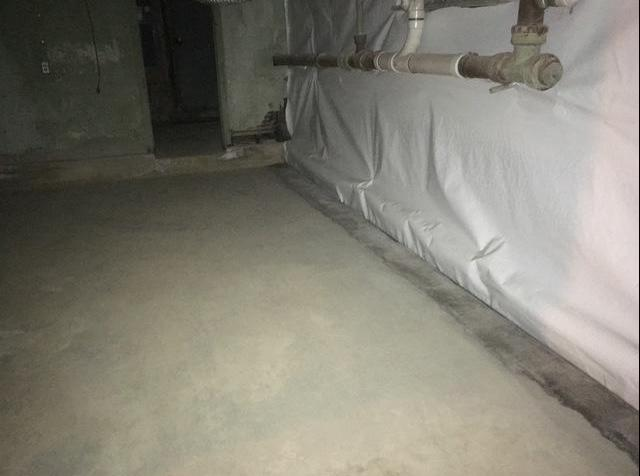 Remediate Mold and Waterproof Basement in Purcellville, VA - After Photo