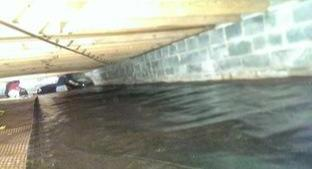 Crawl Space Repair with CleanSpace - Before Photo