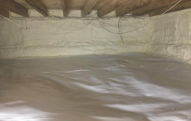 A Full Crawl Space Repair - Bealeton, VA