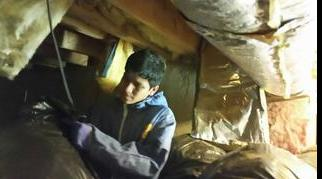 Cleaning up a nasty crawl space