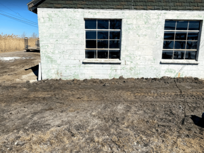 Helical Piers Solve Sinking Foundation Problem in Harsens Island, MI - After Photo