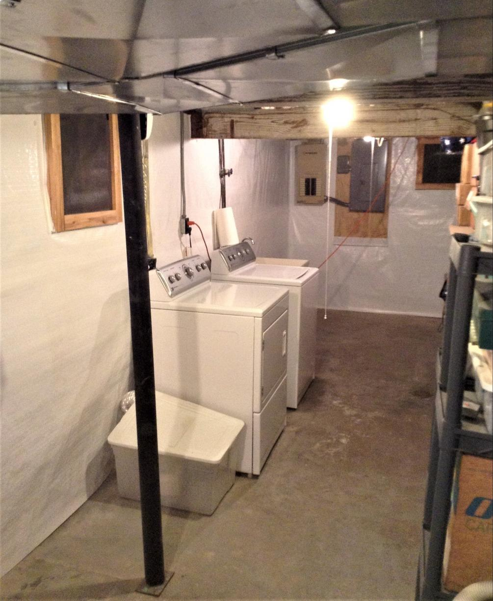 Homeowner Buys Grosse Ile, MI Home With MAJOR Water & Foundation Issues - After Photo