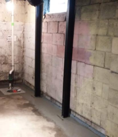 Basement Wall Stabilization in Warren, MI