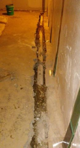 Interior Drainage Installation in Huntington Woods, MI