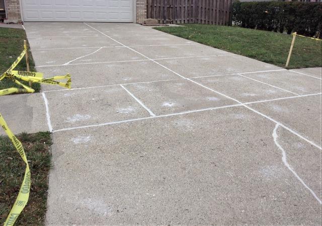 Concrete Driveway Repaired in Pleasant Ridge, MI