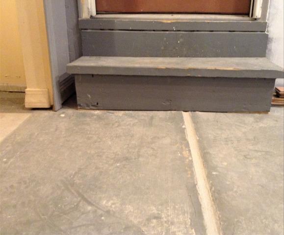 Sinking Garage Floor PolyLeveled in Oakland, MI