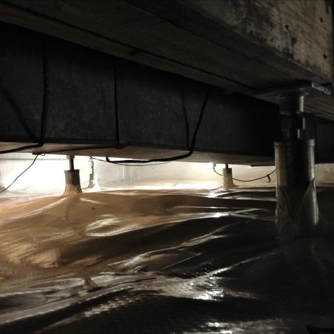 Sagging Floors Fixed & Crawl Space Encapsulated in Monroe, MI