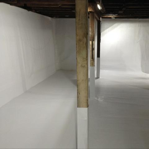 Crawl Space Sump Pump & Dehumidifier Installed in Richmond, MI