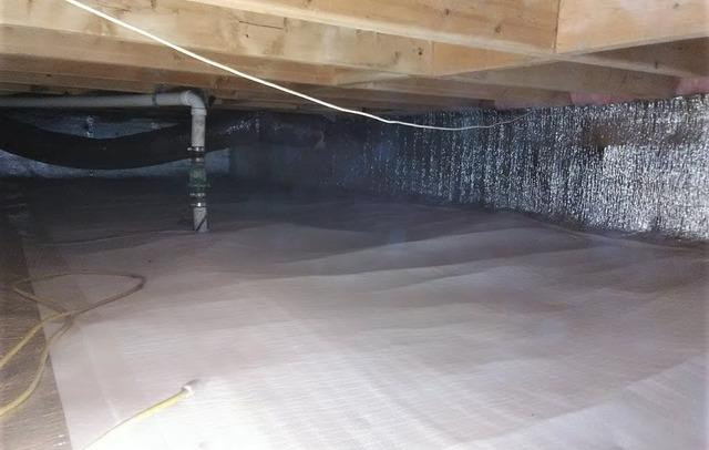 Crawl Space Encapsulation Solves Cold Floors Issue in Gregory, MI
