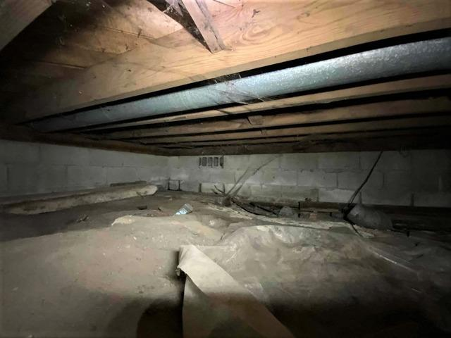 Moisture Terrorizes Joists & Leads to Sagging Crawl Space in New Hudson, MI