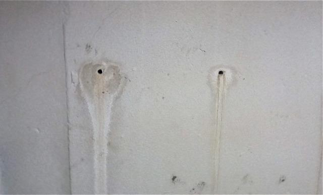 Leaky Rod Holes in Foundation Wall Filled in Caseville, MI