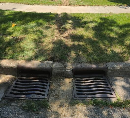 Sump Pump Discharge Line Extended and Buried in Salem, MI