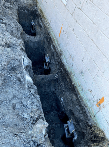 Helical Piers Solve Sinking Foundation Problem in Harsens Island, MI