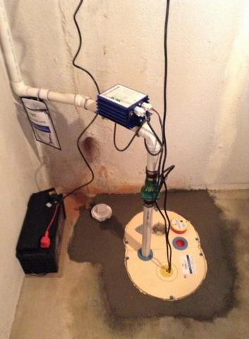 Old Sump Pump Replaced with TripleSafe in Melvindale, MI