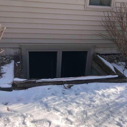 Leaking Wooden Window Well Replaced in Marysville, MI