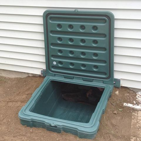 New Crawl Space Access Well Installed in Port Huron, MI