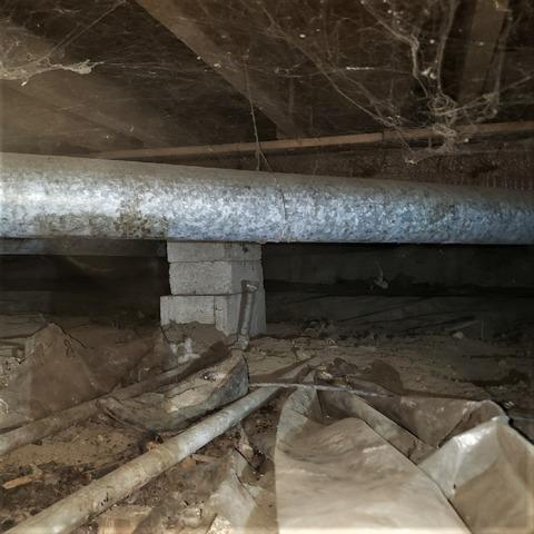 Crawl Space Insulated and Encapsulated in Westland, MI