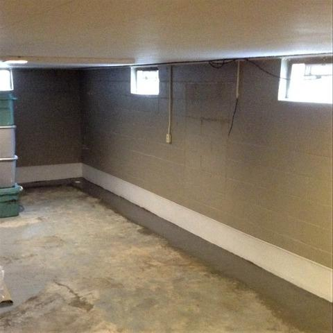 Dundee, MI Basement Suffers From Water Seepage