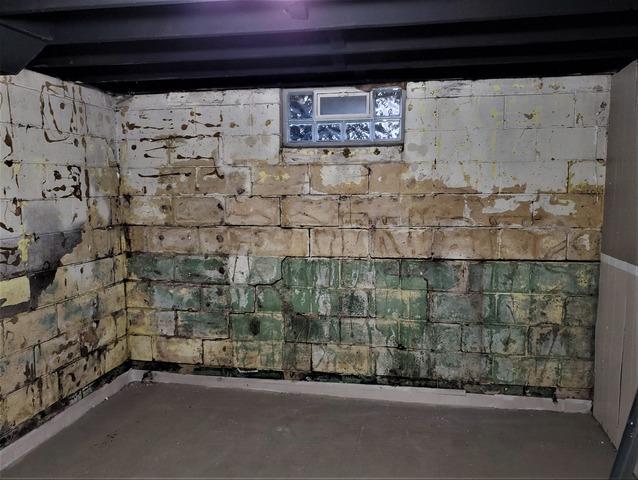 Saint Clair Shores, MI Basement Waterproofed & Bowing Walls Braced