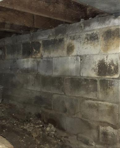 Foundation Sinking & Crawl Space Walls Bowing/Cracked in Ann Arbor, MI
