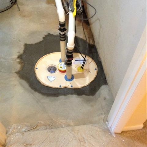 Ann Arbor, MI Sump Pump Installation