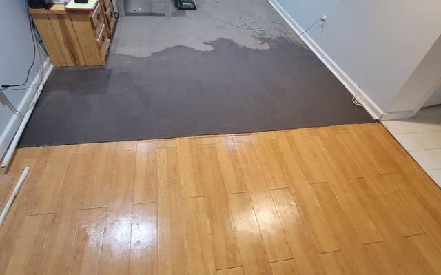 Basement Gets Remodeled After Flood Damage in Westland, MI