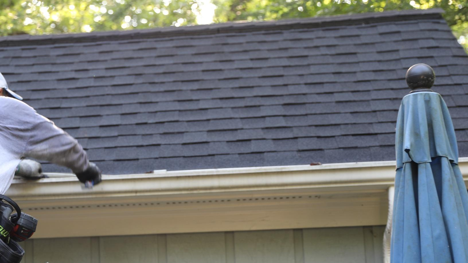 Midlands SC Gutter and Downspout Replacement - Before Photo