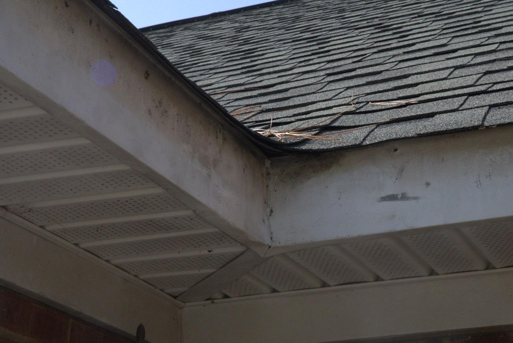 GutterShutter Makeover in Columbia, SC - Before Photo