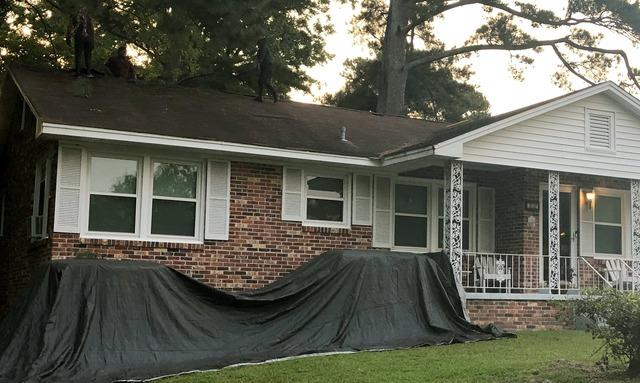 Roof Replacement in Columbia, SC - Before Photo
