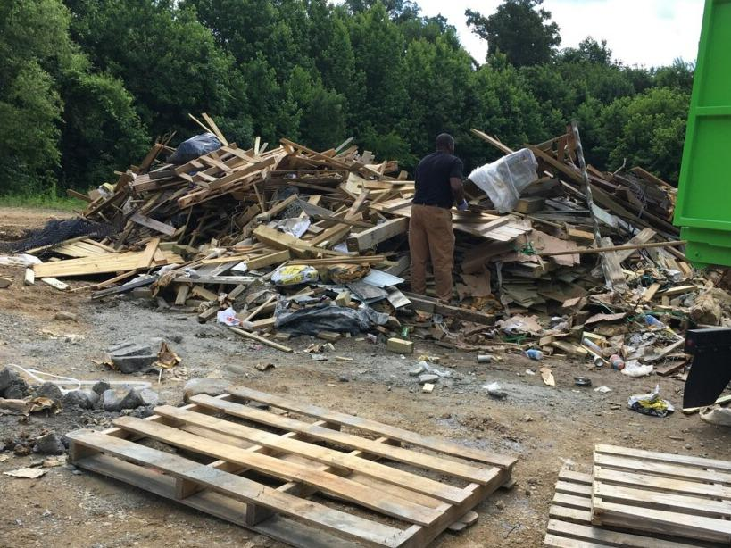 Commercial Cleanup in Knoxville, TN - Before Photo