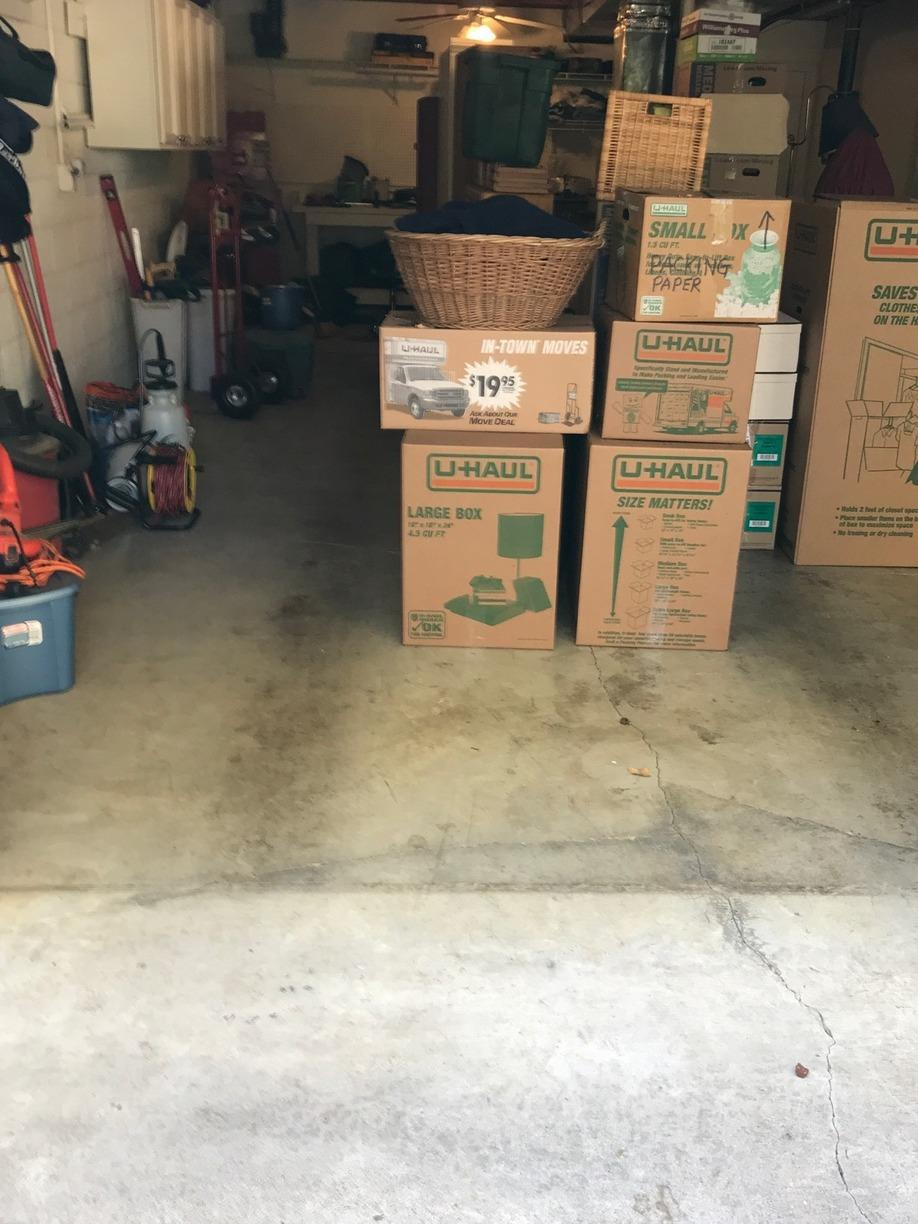 Big Garage Clean-Out Near Pigeon Forge, TN - After Photo