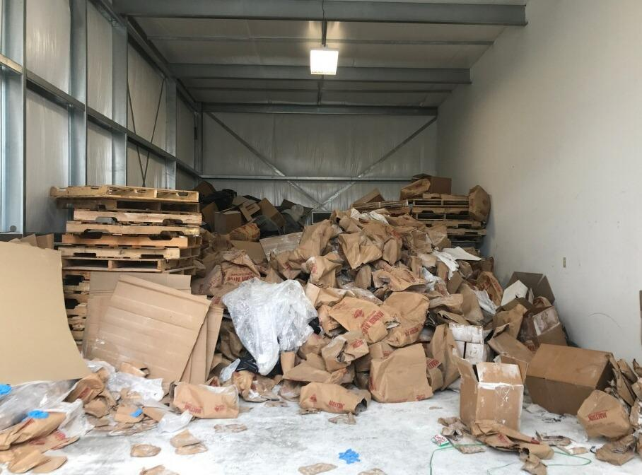 Storage Unit Cleanout in Sevierville, TN - Before Photo