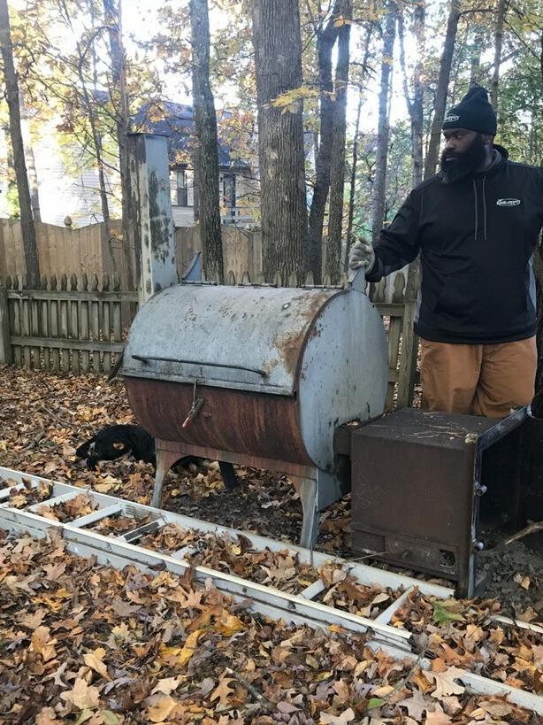 Removing a Giant Smoker in Mascot, TN - Before Photo