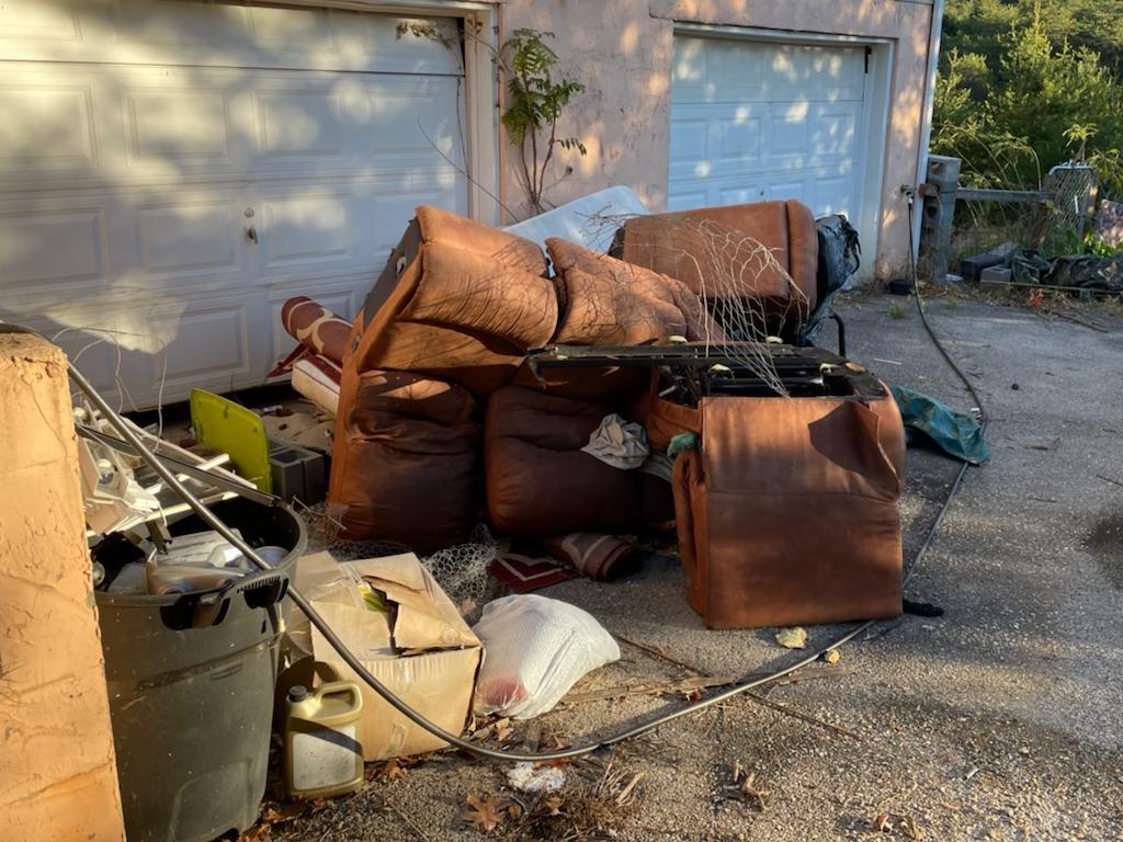Hauling Away Junk in Jefferson City, TN - Before Photo