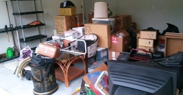 Garage Near Rutledge, TN Gets a Clean-Out - Before Photo