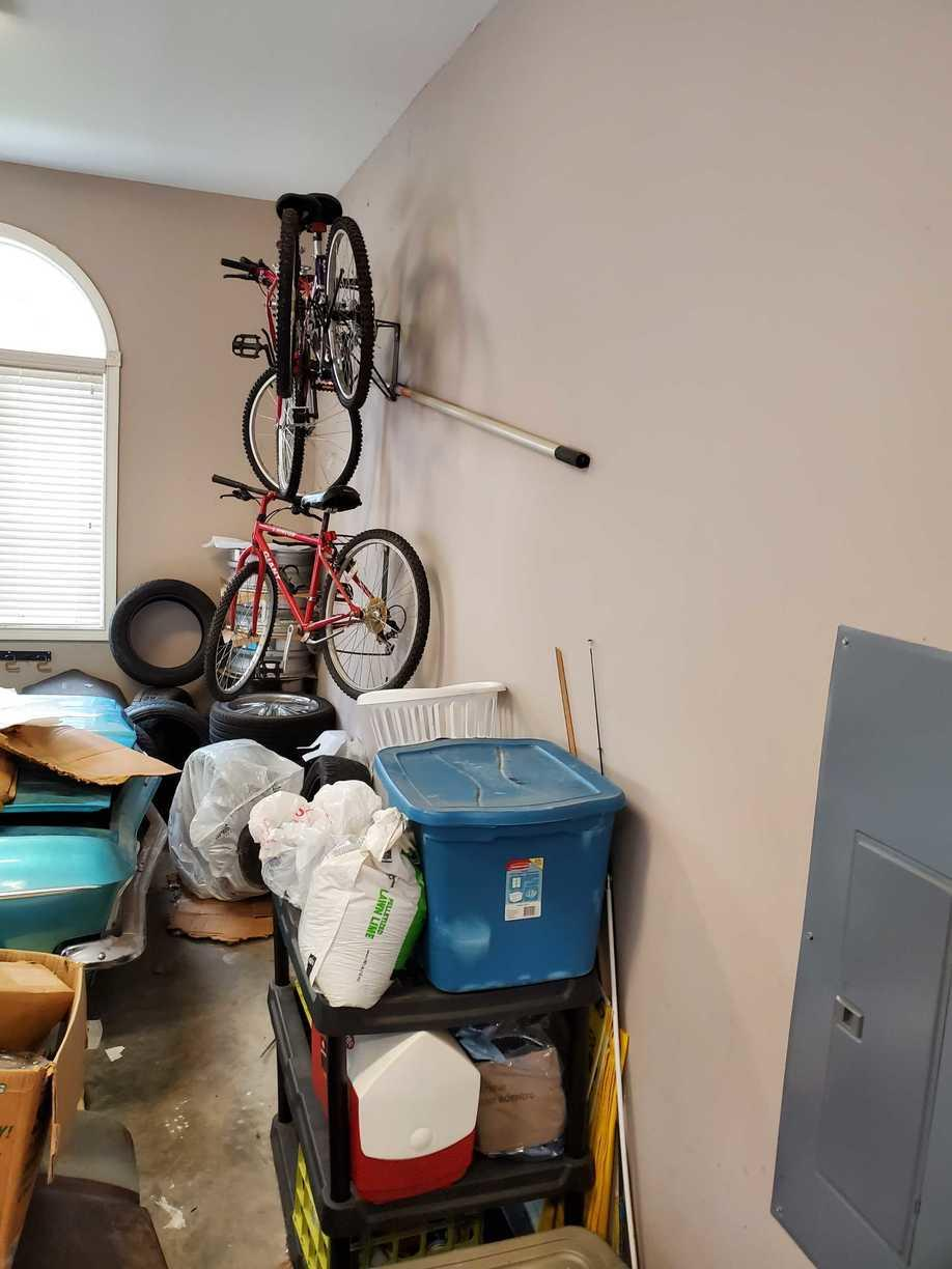 Garage Gets a Makeover in Knoxville, TN - Before Photo