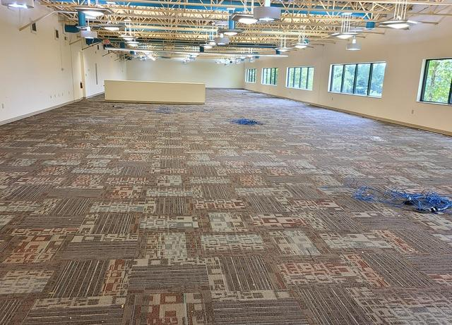 Major Commercial Clean-Out Project at Knoxville, TN Office - After Photo