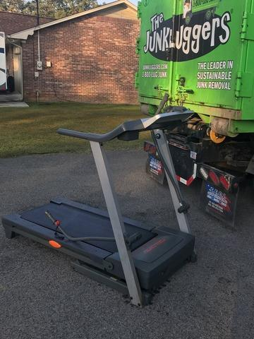 Removing a Treadmill in Kodak, TN