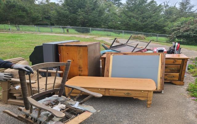 Full Basement Clean-Out in Lenoir City, TN