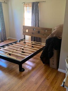 Dismantling and Removing a Bed Frame in Pigeon Forge, TN - Before Photo