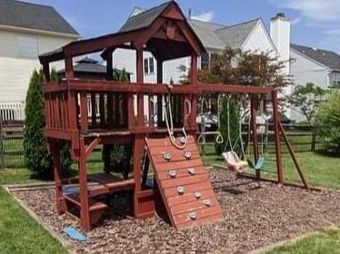 Dismantling and Hauling a Playset in Friendsville, TN