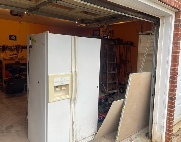 Removing a Bulky Fridge in Powell, TN