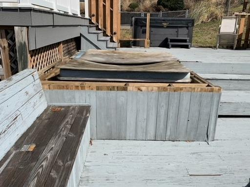 Removing a Hot Tub in Seymour, TN