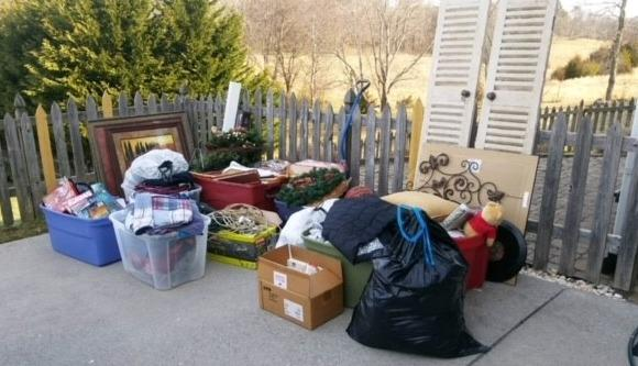 Collecting Items for Charitable Donations Near Sweetwater, TN
