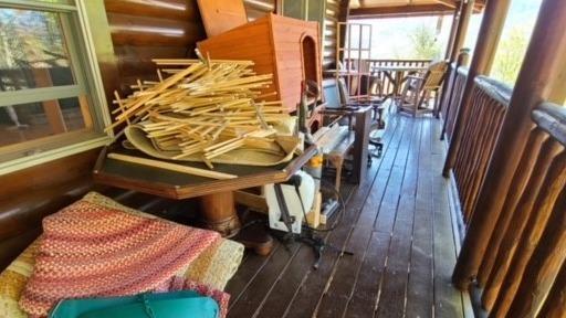 Cabin Clean-Out Near Dandridge, TN