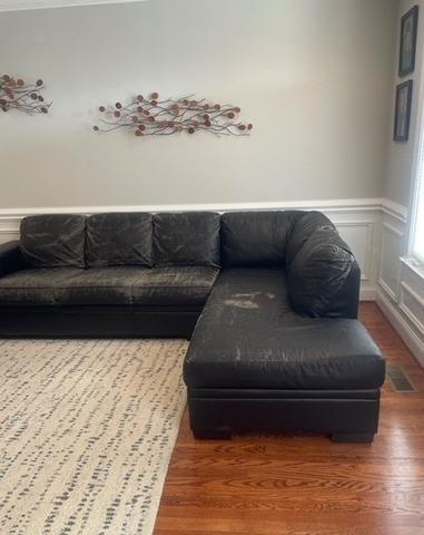 Hauling Furniture Near La Follette, TN - Before Photo